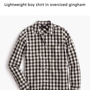 Jcrew lightweight boy shirt